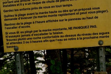 Parc provincial Hopewell Rocks