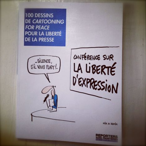 100 dessins de Cartooning for Peace pour la liberté d'expression