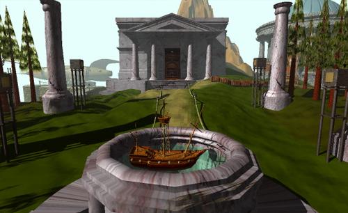 Bibliothèque du jeu Myst, de Cyan Worlds (1993)